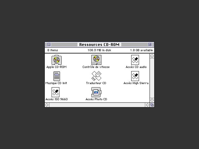 Disk contents preview
