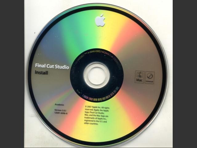 Final Cut Studio v2.0.1 (2007)