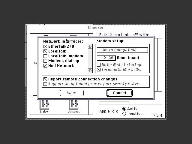 Farallon Liaison Internet Router 3.0.5 (0)