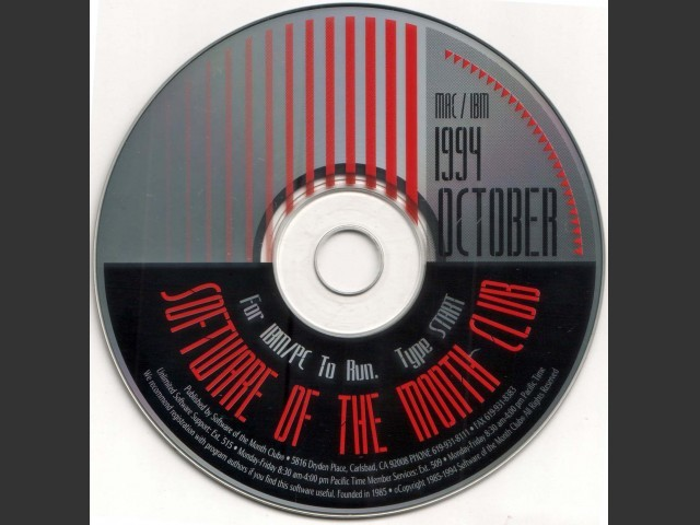 Software of the Month Club CDs 1994 (1994)