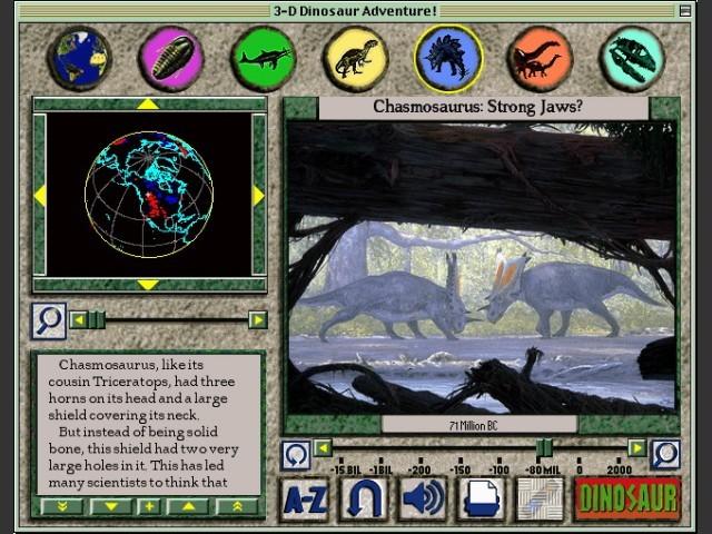 3D Dinosaur Adventure (Anniversary Edition) (1996)