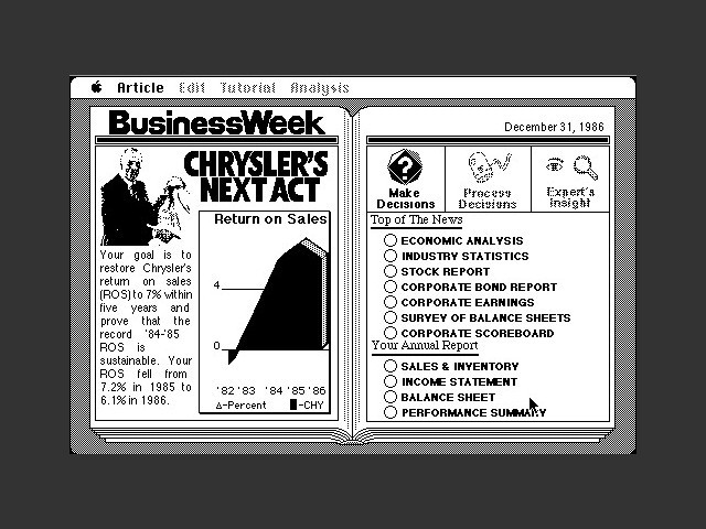 BusinessWeek's Business Advantage (1987)