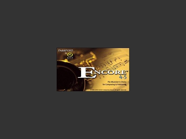 Encore Notation (2007)