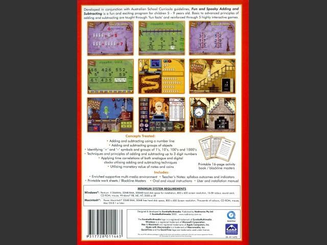 Fun & Spooky Adding & Subtracting (2003)