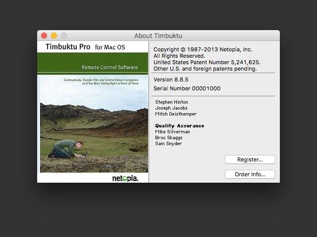 Timbuktu Pro 8.8.5 (2013)