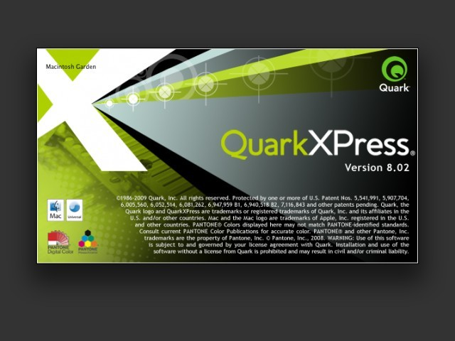 QuarkXPress 8 (2009)