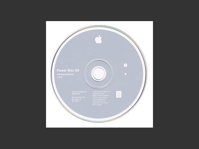 PowerMac G4 Software Restore