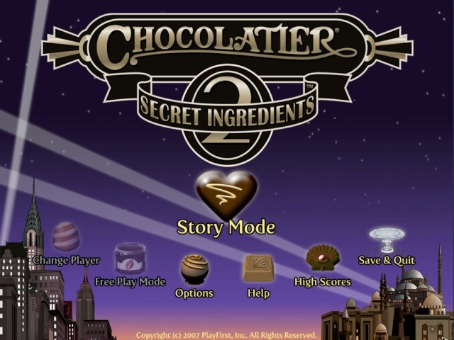Chocolatier 2: Secret Ingredients (2007)