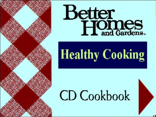 Better Homes and Gardens Healthy Cooking CD Cookbook (1993)