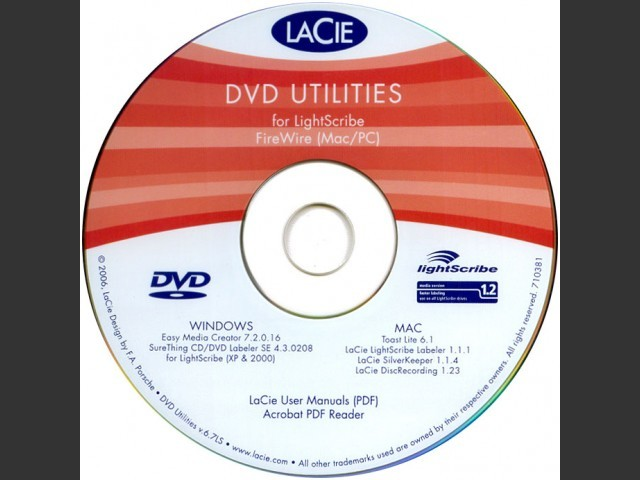 LaCie DVD Utilities (2006) (0)