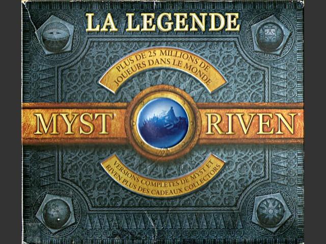 Boite collector de MYST et RIVEN en français (1999)