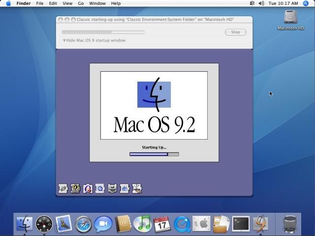 Mac OS 9.2.2 System Folders for Mac OS X (Classic Environment) (2000)
