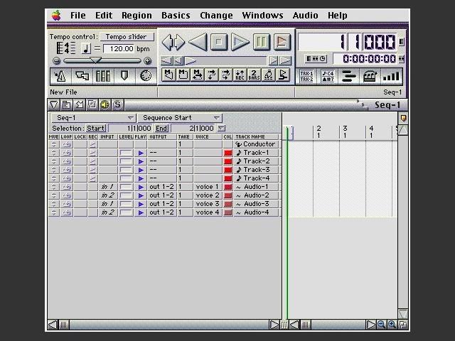 Digital Performer 2.7 (2000)