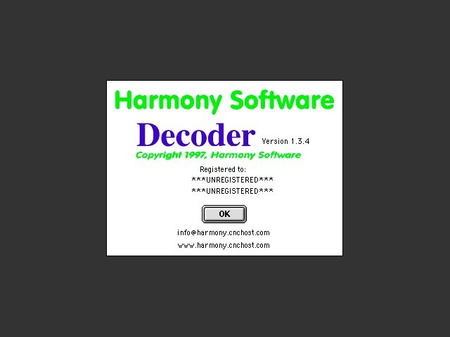 Decoder (Harmony Software) (1997)