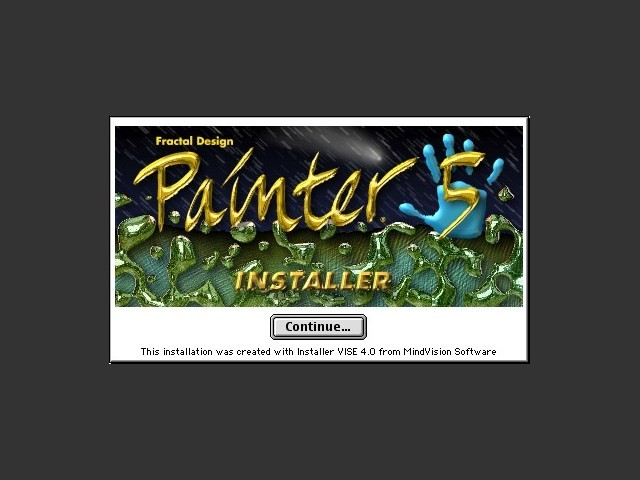 Painter 5.0 (1997)