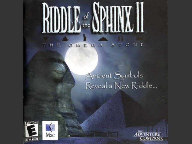 Riddle of the Sphinx II:  The Omega Stone (2004)