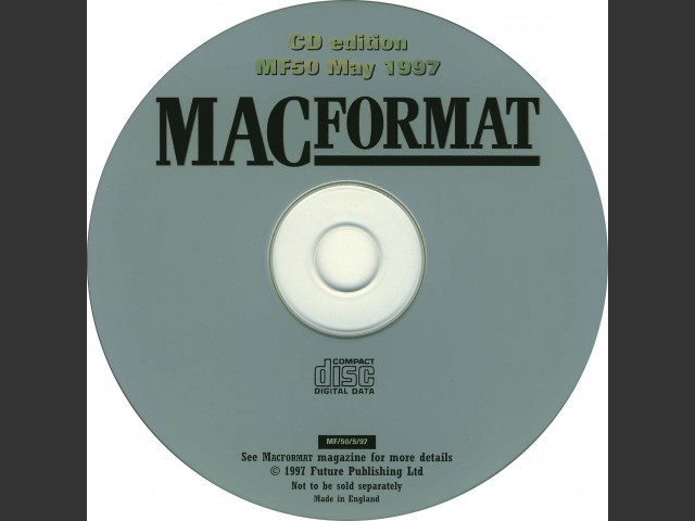 MacFormat 1997 Cover CDs (1997)