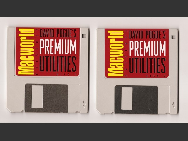 David Pogue's Premium Utilities (Macworld) (1995)