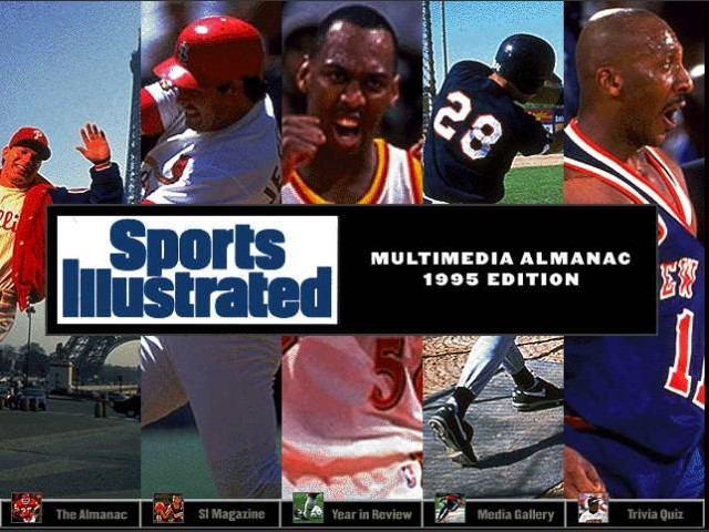 Sports Illustrated Multimedia Almanac: 1994/1995 Editions (1994)