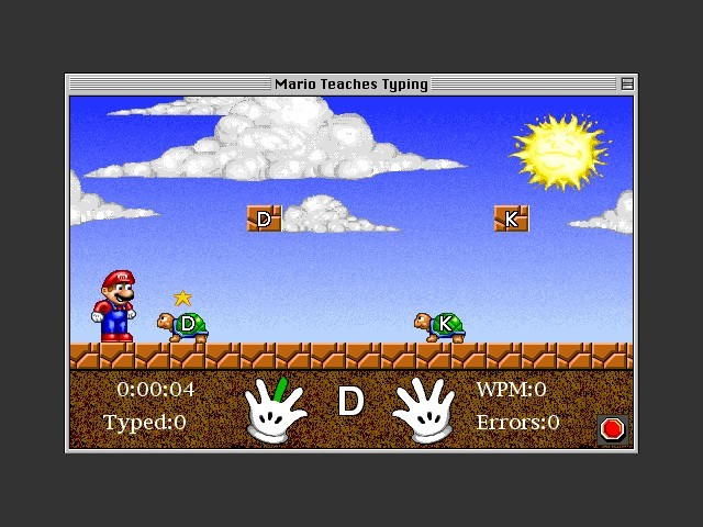Mario Teaches Typing (1993)