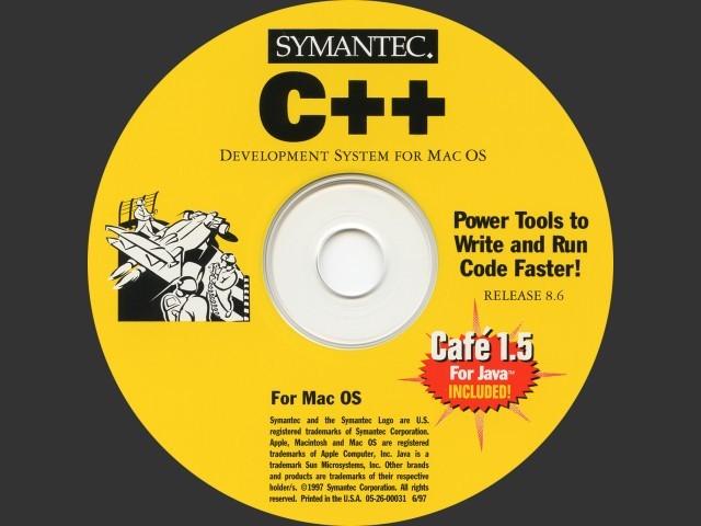 Symantec (Think) C/C++ 8.6 (1997)
