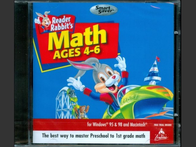 Reader Rabbit's Math Ages 4-6 (1998)