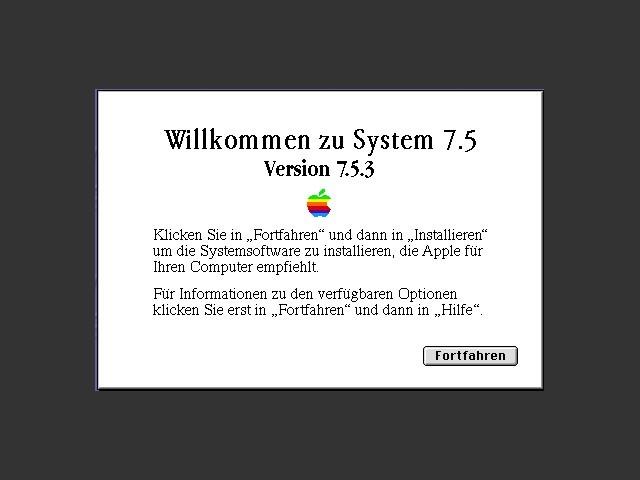 Mac OS 7.5.3 (German) (1996)