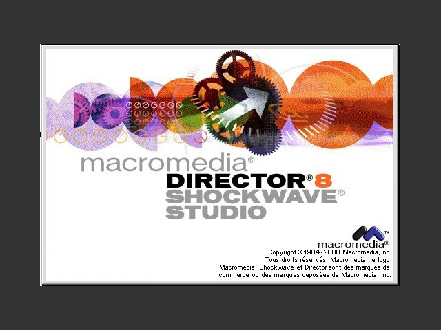 Macromedia Director 8 Shockwave Studio (2000)