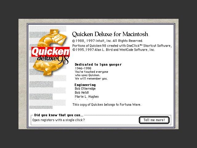 Quicken Deluxe 98 (1998)