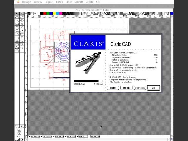 Claris CAD 2.0Dv3 (1997)