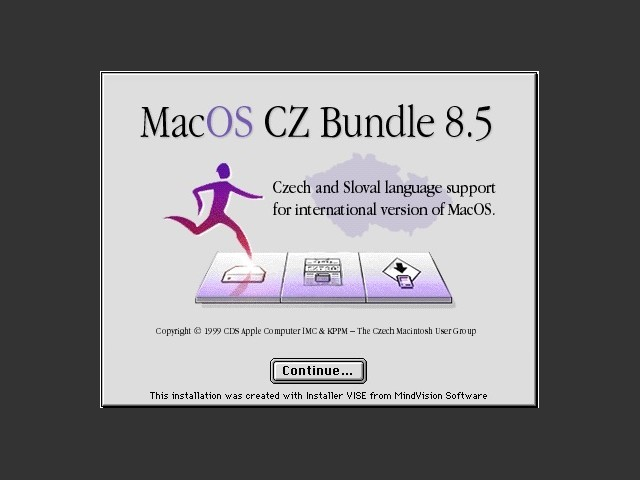 Mac OS CZ Bundle 8.5 (1999)