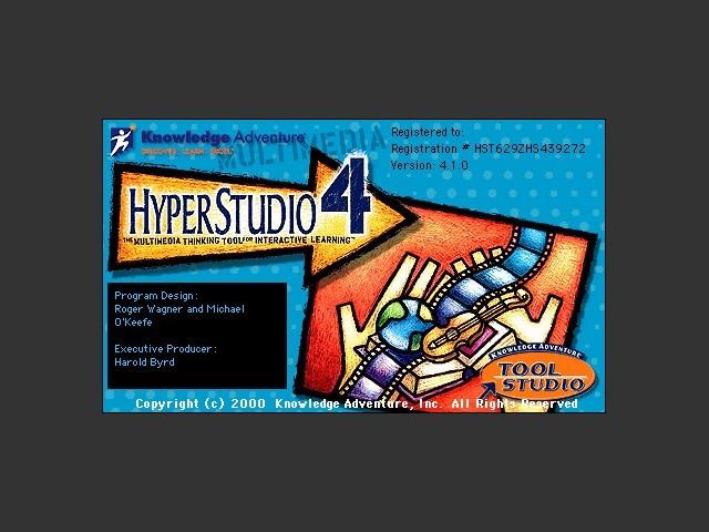 HyperStudio 4.1 (2000)