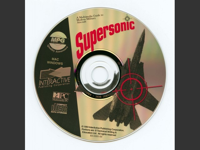Supersonic: The Multimedia Guide To Modern Military Aircraft (1993)