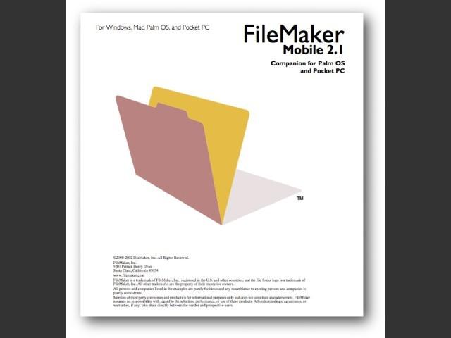 FileMaker Mobile 2.1 (2002)