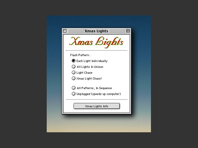 Xmas Lights 1.1 (1993)