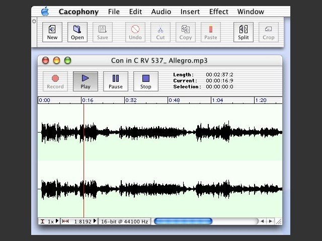 Cacophony 1.2.2 FR (2003)