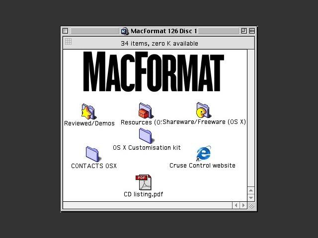 MacFormat 126 CD 1/2