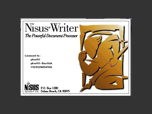 Nisus Writer 4 (1994)