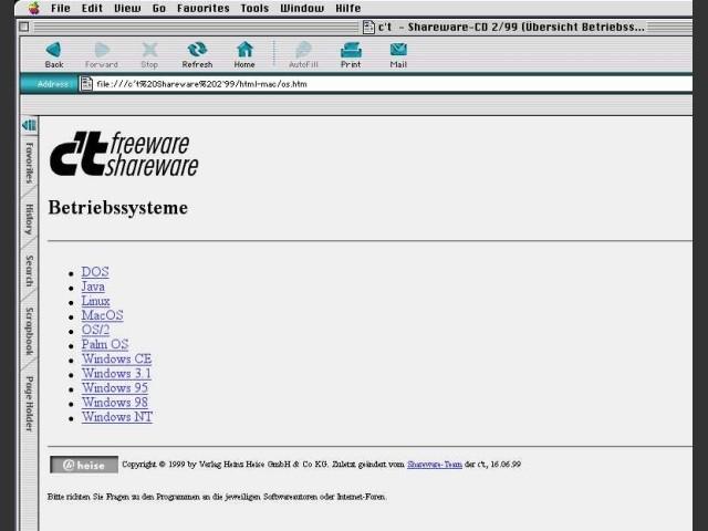 OS List CD 2 1999