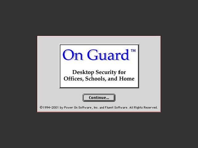 On Guard 3.x (1998)
