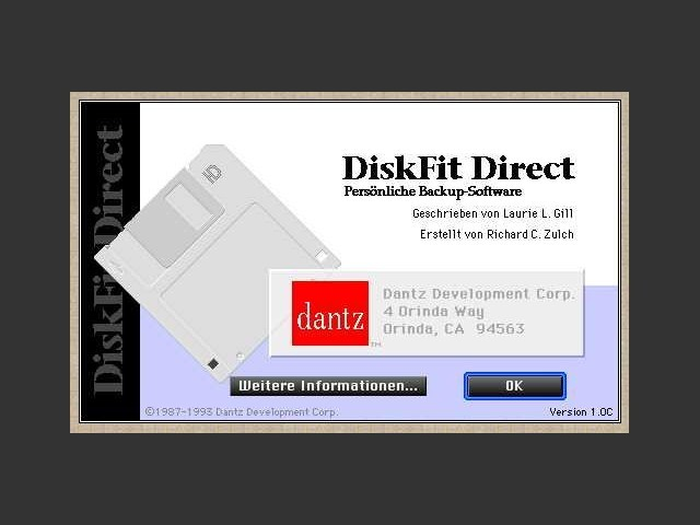 DiskFit Direct 1.0 (1993)