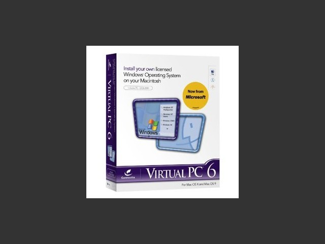 Connectix Virtual PC 6.0 (2002)