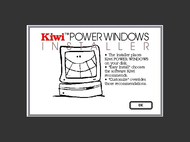 Kiwi POWER WINDOWS (1992)