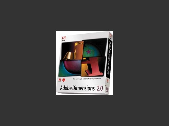 Adobe Dimensions 2.0 (1994)