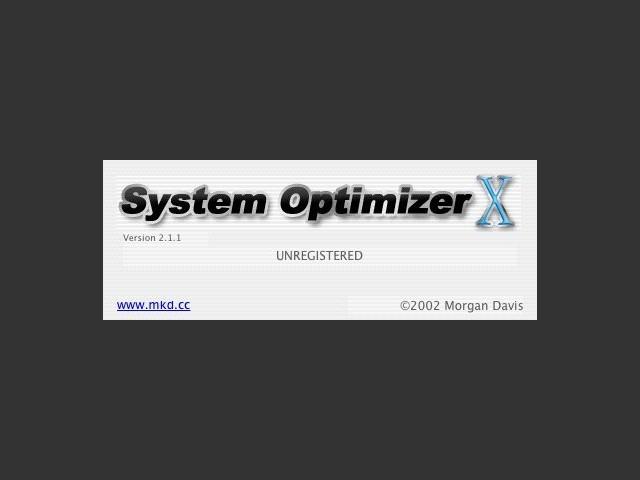 System Optimizer X (2002)