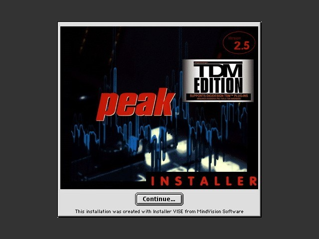 Peak TDM 2.x (1999)