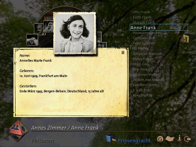 Anne Frank House CD-ROM (2000)