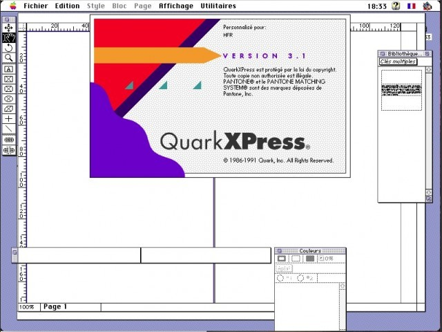 QuarkXPress 3.1 FR (1992)