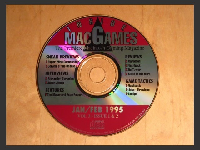 Inside Mac Games CD January/February 1995 (1995)