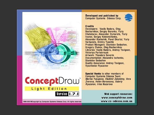 ConceptDraw 1.7.1 LE (2001)
